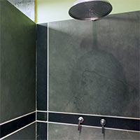 Bespoke Manufactured Slate Shower Tiles
