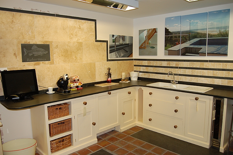 Photographs Of Slate Kitchen Worktops Work Surfaces Sink