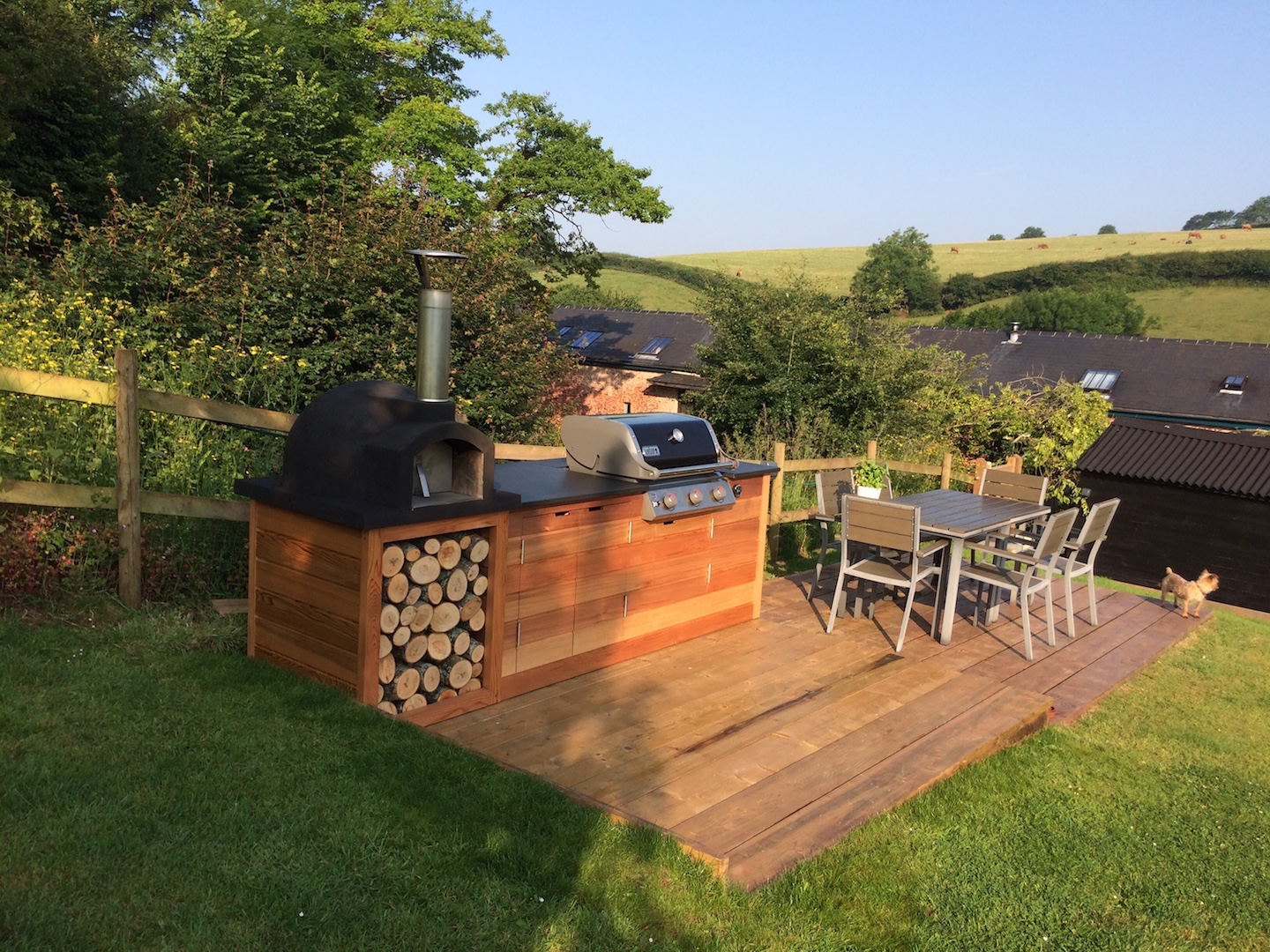 Gallery of Outdoor Slate Products, Barbecue and Pool Surrounds