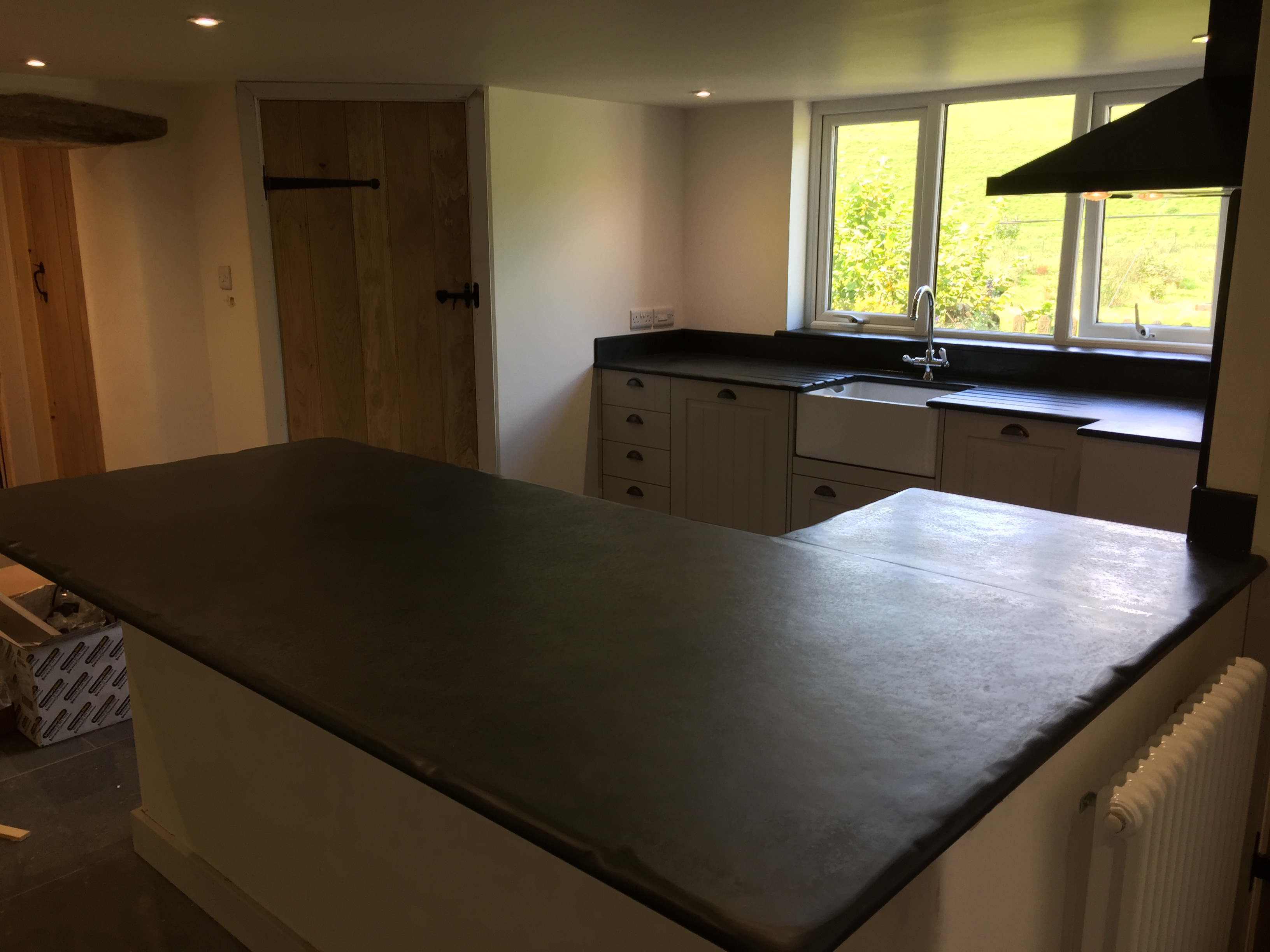 graphs of Slate Kitchen Worktops Work Surfaces Sink Surrounds