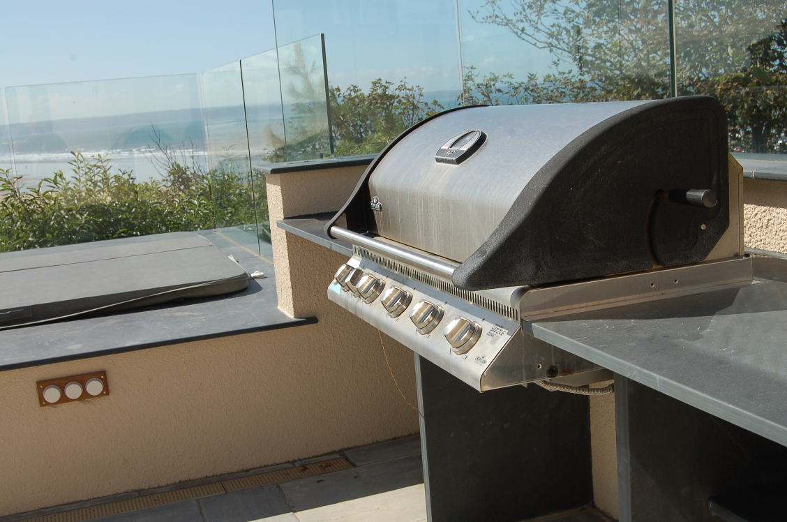 Gallery Of Outdoor Slate Products Barbecue And Pool Surrounds
