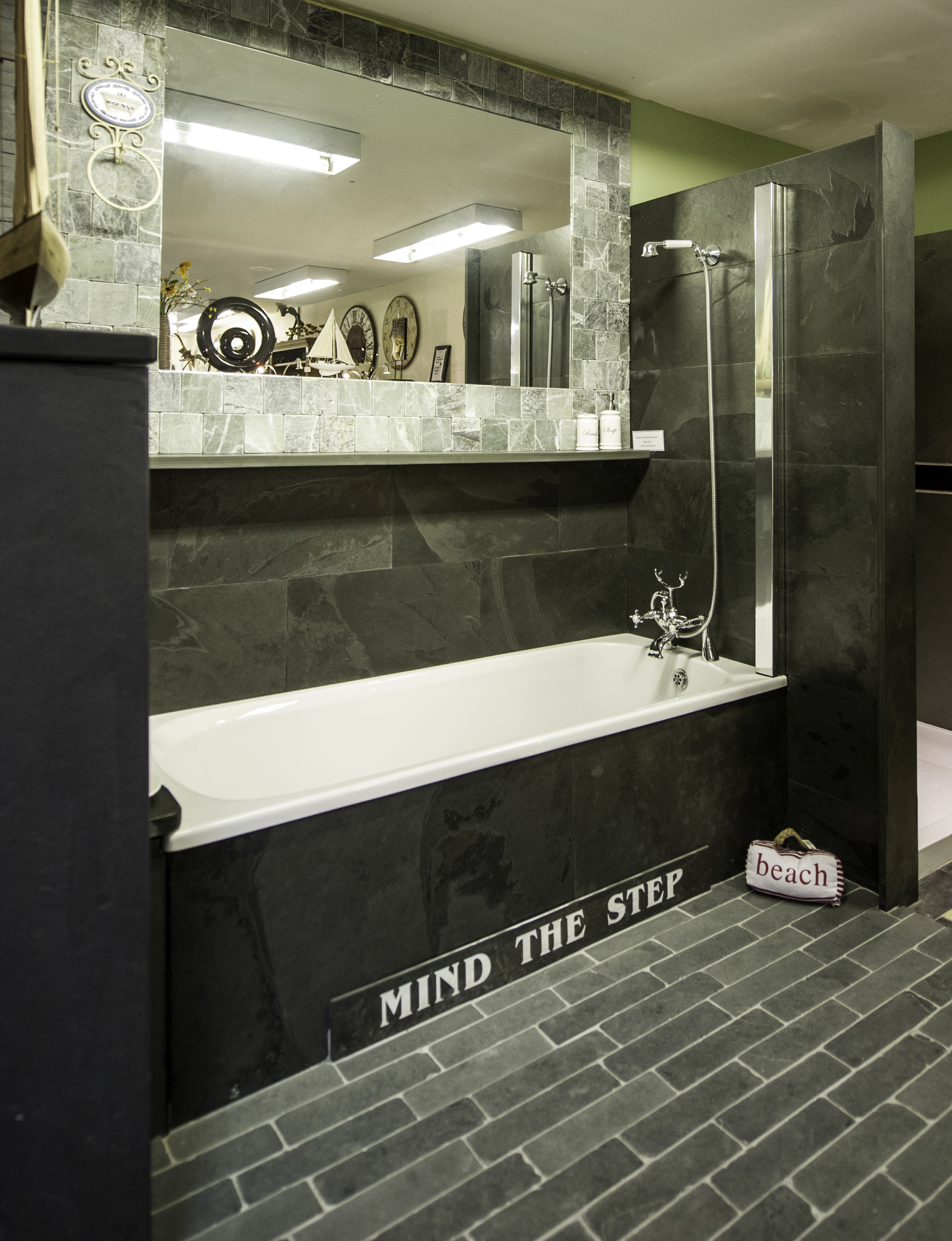 Slate Tiles Trays And Cladding For Bathrooms Showers