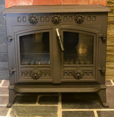 Dulverton Double Door Wood Burner