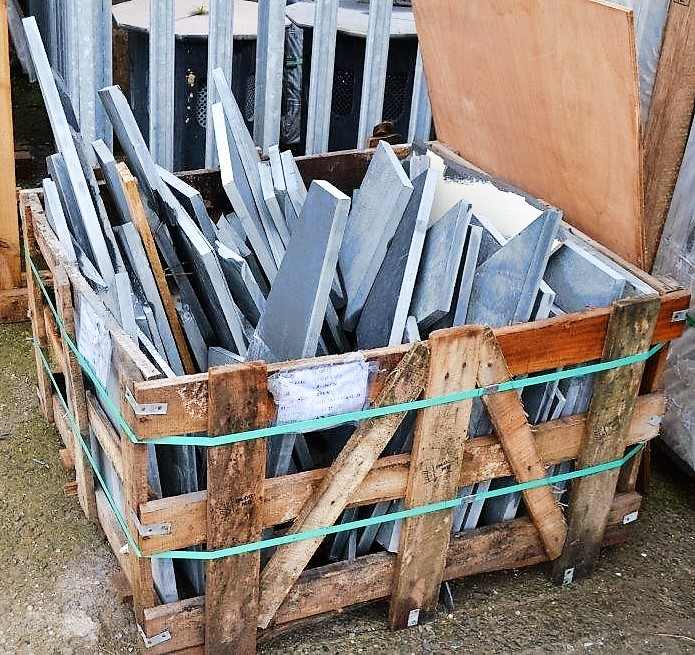 Slate Offcut Crate