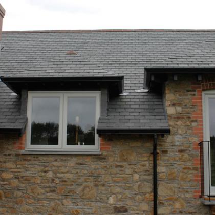 Roof slates made from Brazilian slate