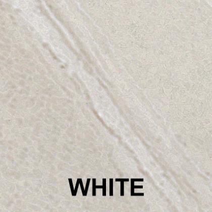 White porcelain paving