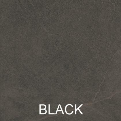 Minster Black porcelain paving