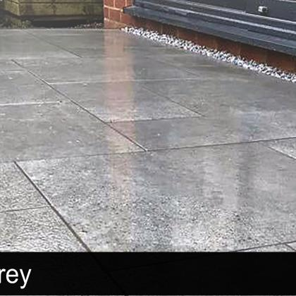 Optima Grey Porcelain Patio