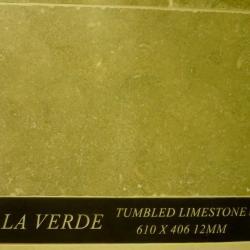 A La Verde Tumbled Limestone