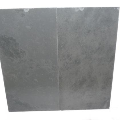Hand Polished Black Brazilian Slate (10/12mm) Wall or Floor Tile