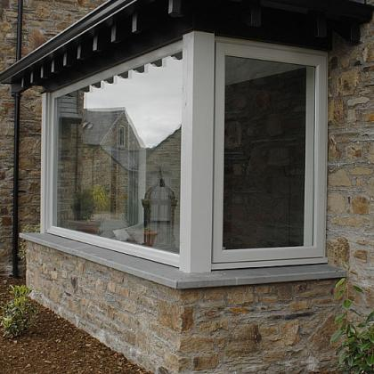 Exterior 50mm Brazillian Slate Cills around window