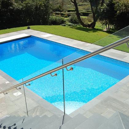 Exterior Pool Coping And Steps