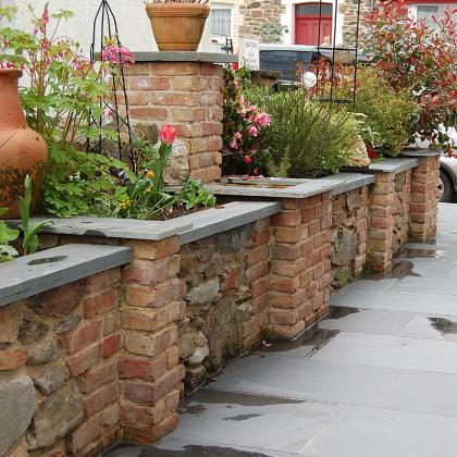 Exterior Slate Paving And Copings