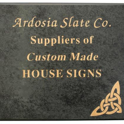 House Sign Example