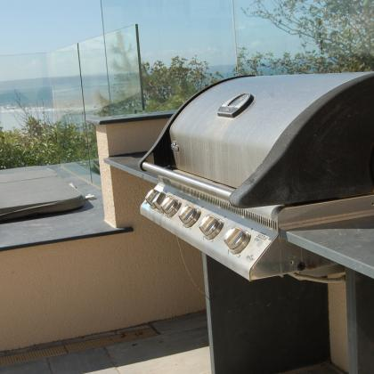 Outdoor BBQ Slate Worktop