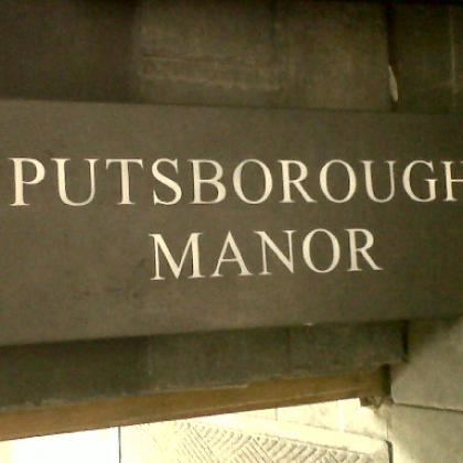 Putsborough Manor Sign