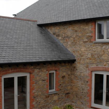 Brazilian slate roof tiles