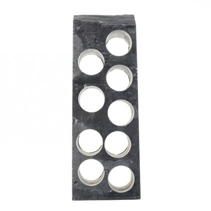 Solid Slate 9 Bottle Rack