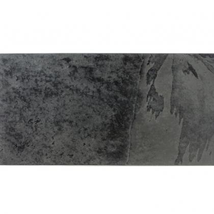 Rectangular Black Slate Table Mat