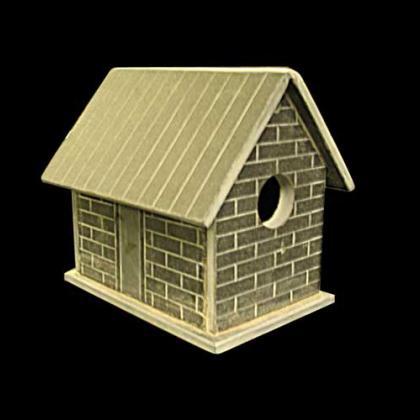 Slate Bird House for the garden