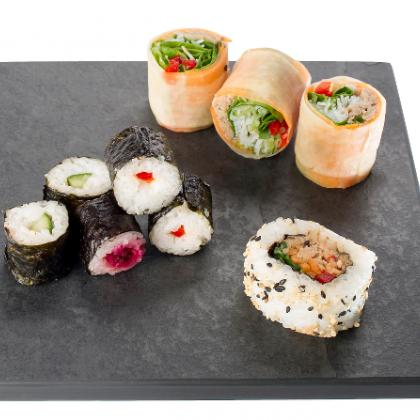 Sushi Slate Board with straight edges