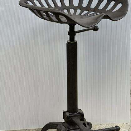 Tractor Seat Stool, swivel and height adjust