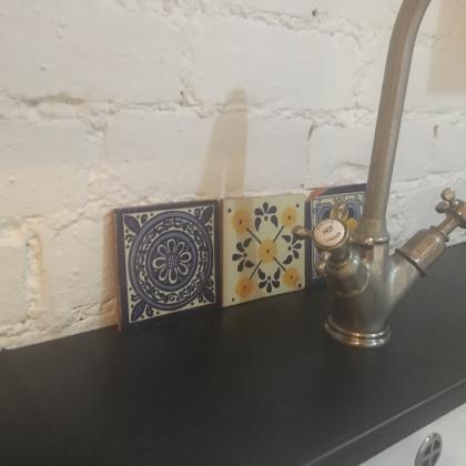 Victorian styled tap for one of our bespoke sinks