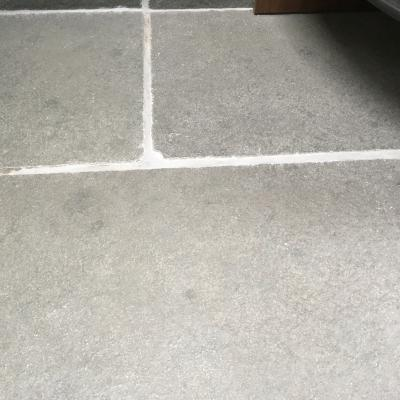 large riven surface limestone slab