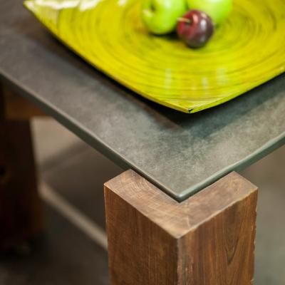 Oak Table with slate top