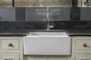 Belfast sink surround from Ardosia Slate