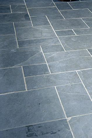 4 Tile Size Pattern In Black Slate