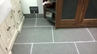 Limestone Slab Riven Finish Lime Grey