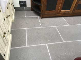 Grey limestone with riven surface