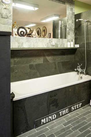 Bathroom slate wall cladding tiles