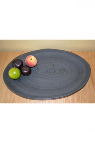 Hand Made Circular Fruit Plate