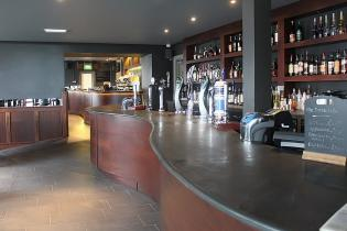 Restaurant and bar slate work surface and serveries