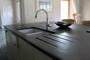 Superior Slate Kitchen Sink Worktop With Belfast Sink