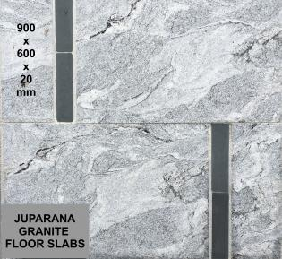 Juparana Granite Paving