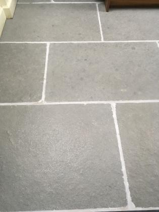 grey slabs in limestone