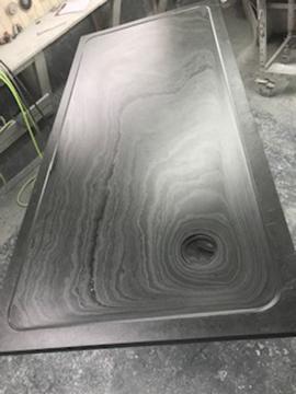 rectangular custom made shower tray