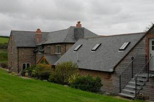 Farmhouse slate tiles