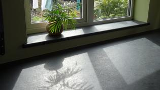slate window sill and surround