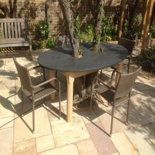 Tree Table outdoors